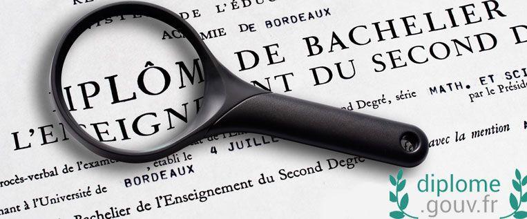 Diplome.gouv.fr : un site pour obtenir une attestation en ligne en cas de perte de diplôme.